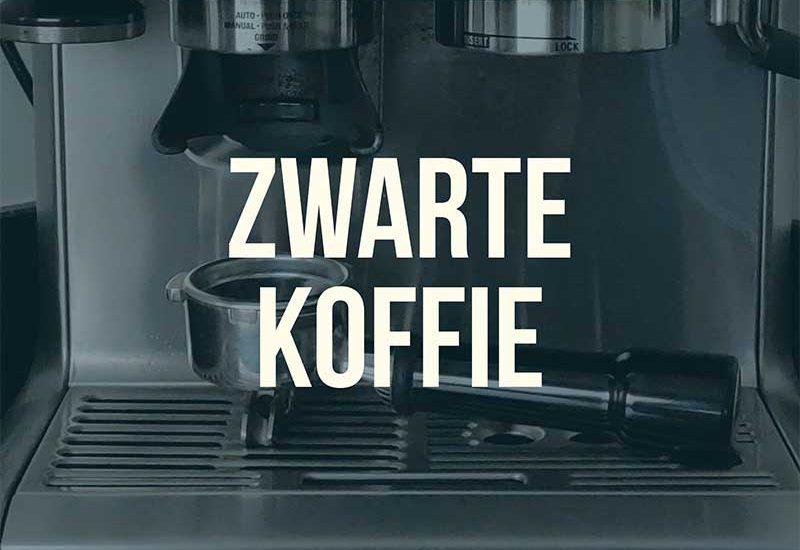Zwarte koffie blog